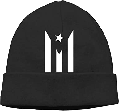 Flag of Puerto Rico Women and Men Stretchy /& Soft Sports Beanie Hat