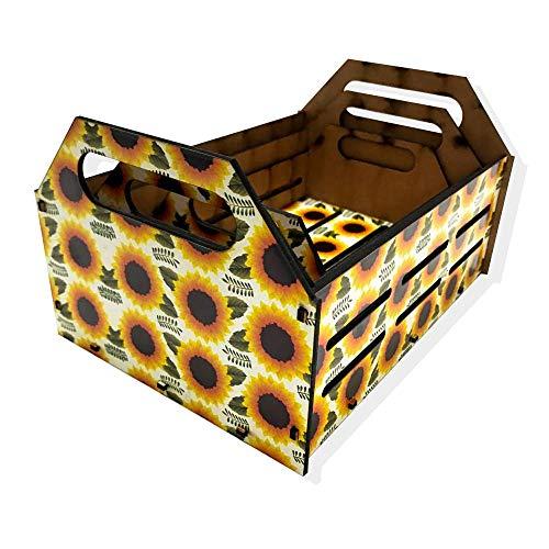 Kit Caixa Decorativa - Girassol