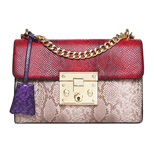 hombro mujer Chaufly Red Bolso para al x1186OwE