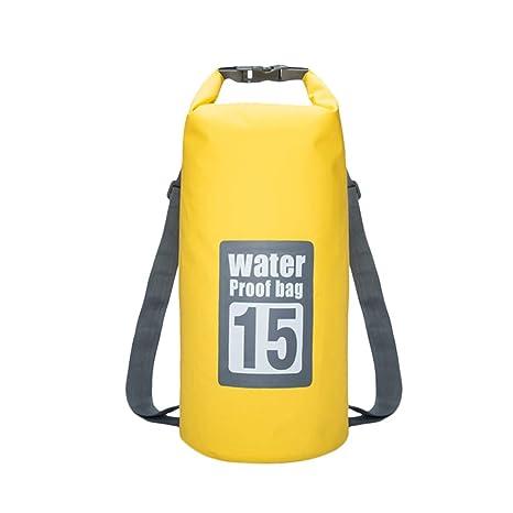 LIOOBO Bolsas secas flotantes a Prueba de Agua de 15 litros ...