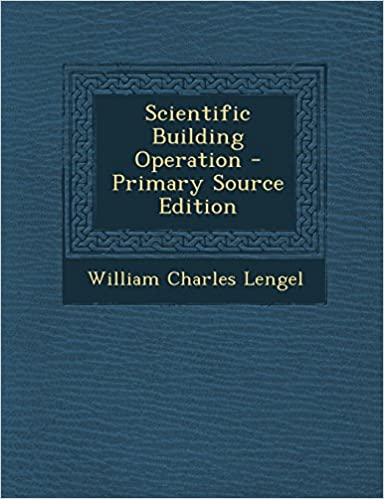 Book Scientific Building Operation - Primary Source Edition