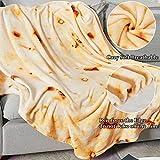 LAGHCAT Burritos Blanket, Tortilla Throw Blanket
