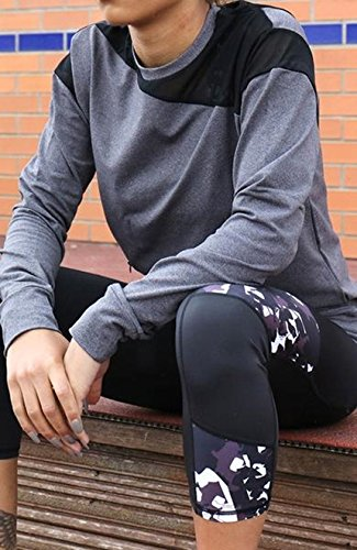 Femme Activewear Gris Acai Thermal Sweat AFxpXq