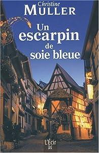 Un escarpin de soie bleue  par Christine Müller