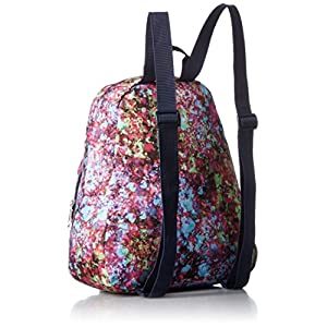 JanSport Half Pint Backpack- Discontinued Colors (Multi Flower Explosion)