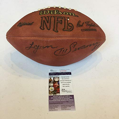 Lynn Swann #88 Pittsburgh Steelers Autographed Signed Authentic NFL Wilson Football Memorabilia JSA