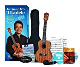 Daniel Ho Ukulele Starter Pack, Complete (Concert Ukulele, Carrying Case, Ukulele Strap, Deluxe Accessories, Audio CD, DVD)