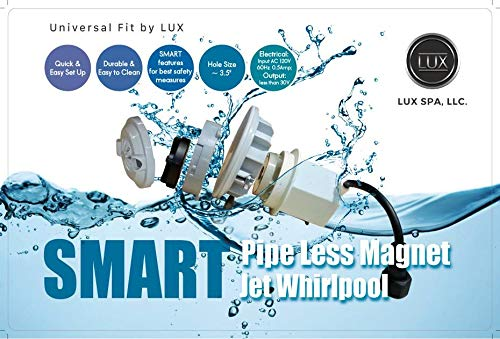 SMART Pipeless Magnet Jet Universal Fit for Pedicure Chairs - Strong and Durable by ()