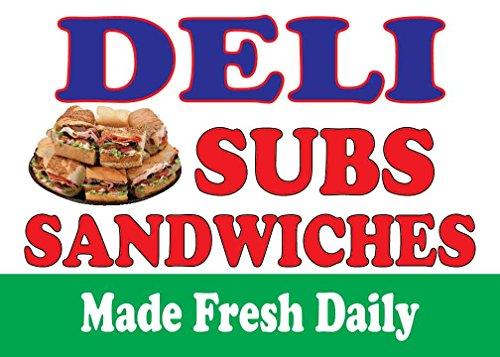 Deli Subs Sandwiches 14