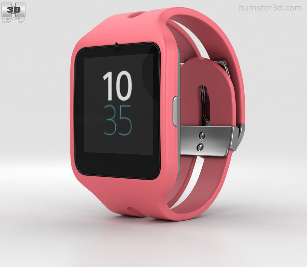 Sony Smartwatch 3 SRW50 for Android 4.3 onwards - Pink