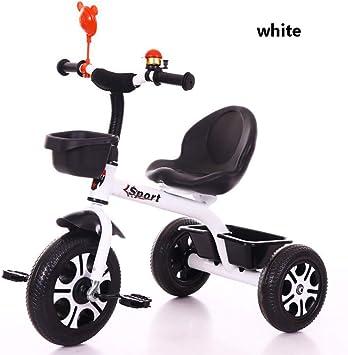 Triciclos Bebes 1-6 Año, Triciclo Plegable Bicicletas Estaticas BH con Se Pueden Seleccionar 3 Tipos de Neumáticos, la Carga de 25 KG es Muy Adecuada para Caminos de Grava,1: Amazon.es: Deportes y