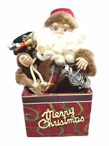 Animated Santa Claus Christmas Figurine Figure Decoration 12