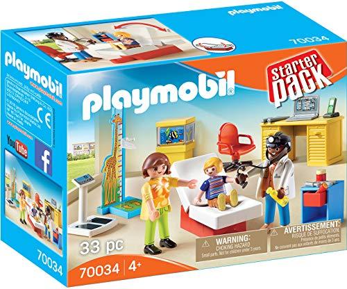 PLAYMOBIL Consulta Médico Pediatra Starterpack