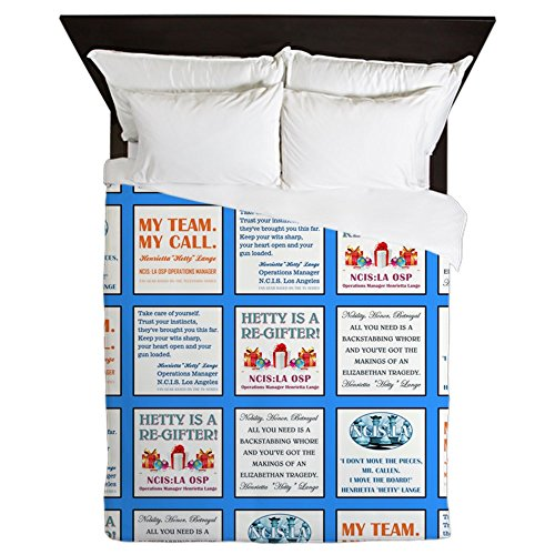CafePress - HETTY QUILT SQUARE - Queen Duvet Cover, Printed Comforter Cover, Unique Bedding, Microfiber by CafePress