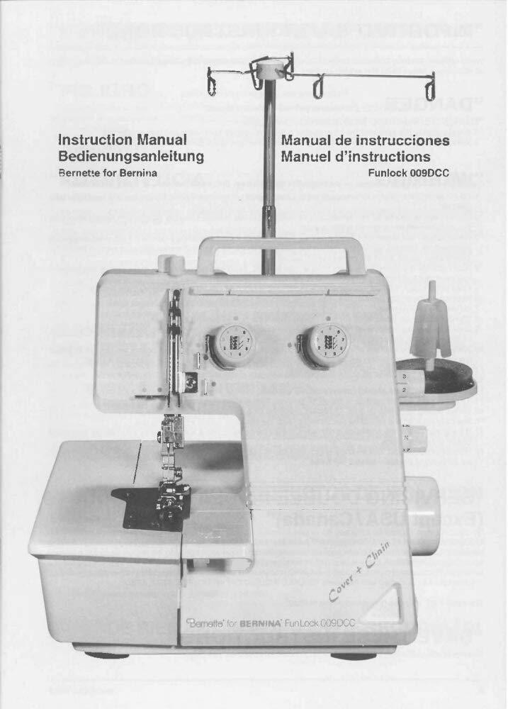 Amazon com: Bernina Funlock 009DCC Sewing Machine Owners