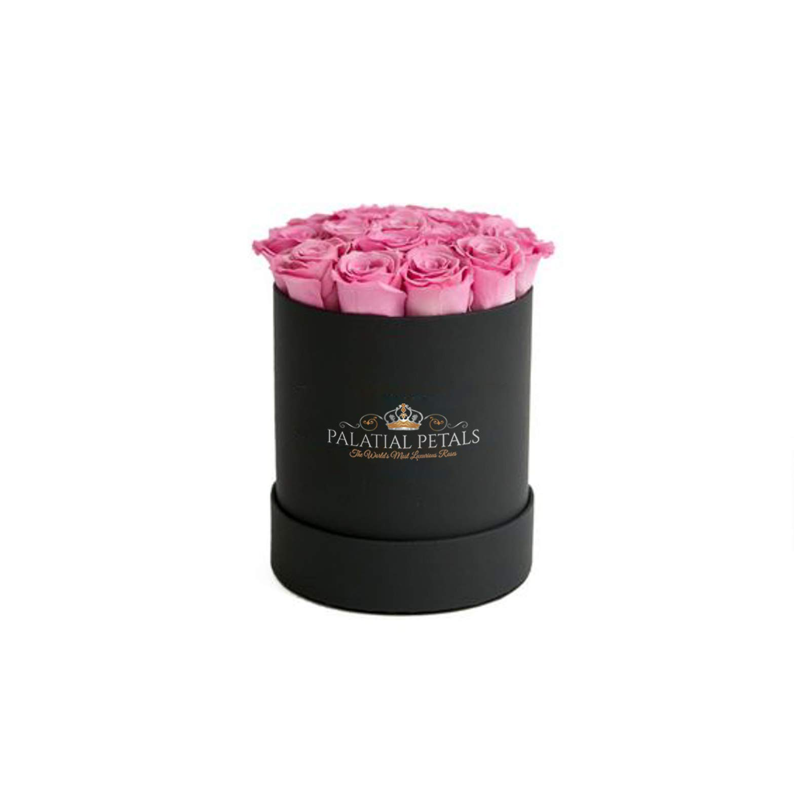 PALATIAL PETALS Real Cut Roses That Last 365 Days - Preserved Real Roses in Box (Roses in a Box, Home Decor, Best Gift for Her, Anniversaries, Birthdays & Weddings)