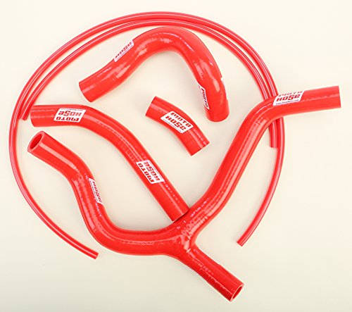 - 15-16 HONDA CRF450R: Moto Hose Y-Hose Kit (Red)