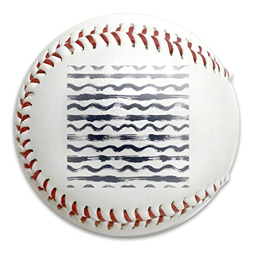 Native American Indian Aztec Geometric Seamless Personalized Low Impact Safety Softball Baseball for Indoor and Outdoor Training (Aztec Pitching Machine)