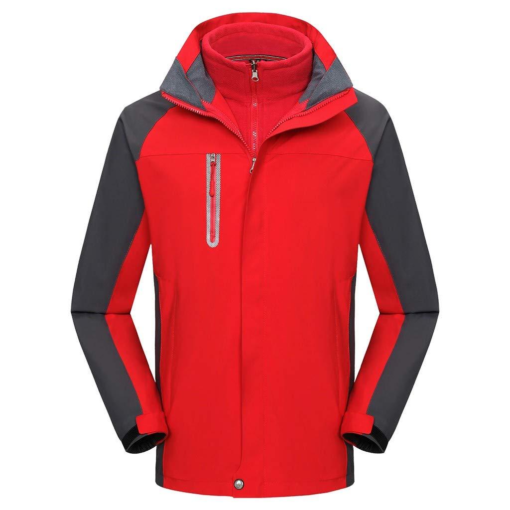 Rot XS Blaue Herren Damen Jacken Bergsteigeranzug Sportjacke Jacke Wasser- und Winddichte Sonnenschutzjacke Paar Sportbekleidung
