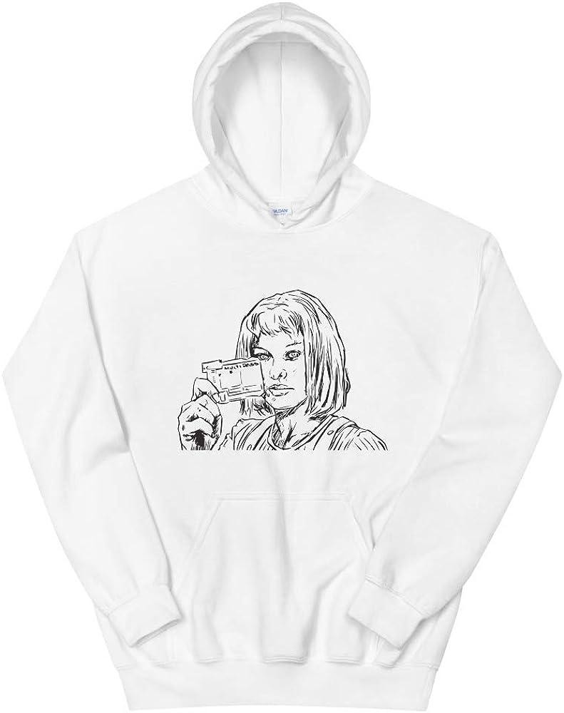 Babes /& Gents Milla Jovovich White Hoodie Unisex
