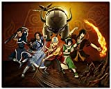 "Tomorrow sunny New Avatar The Last Airbender Cartoon Anime Art Silk Poster 24x36"" 004"