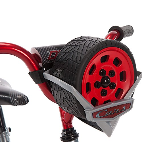 12 Inch Huffy Disney Pixar Cars Boys Kids for Boys with Sounds, Helmet and Cleaner Cloth by Huffy (Image #5)