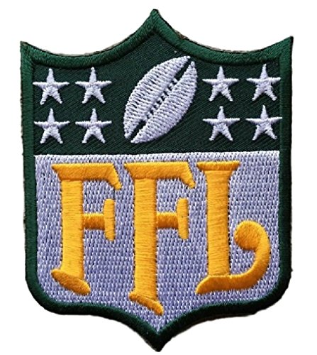 Fantasy Football FFL Patch Green Bay (Perfect For Jersey, Award, Trophy or Draft) -