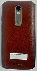 Motorola DROID Turbo 2 XT1585 64GB Verizon Unlocked Brown Leather Gray Metal