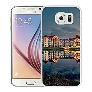 New Beautiful Custom Designed Cover Case For Samsung Galaxy S6 With Resort Hotel (2) Phone Case