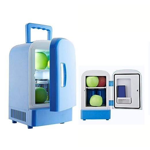 QUUY Mini refrigerador, 2V Mini portátil, 4L Refrigeración ...