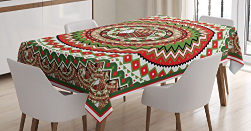 Tablecloth Table Cover Decor Family Christmas - 1
