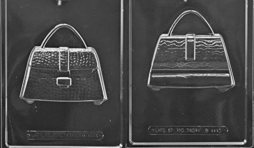 Mold Candy Front (Purse Front and Back Chocolate Mold - D111AB - 2 Molds - Includes Melting & Chocolate Molding Instructions)