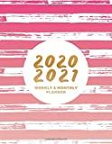2020 - 2021 Weekly & Monthly Planner: Large