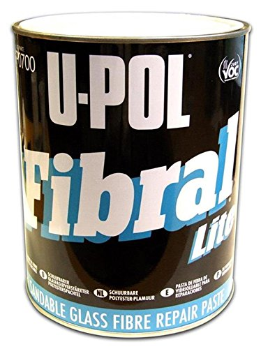 U-Pol Products 0700 FIBRAL Glass Fiber Filler - 3 Liter