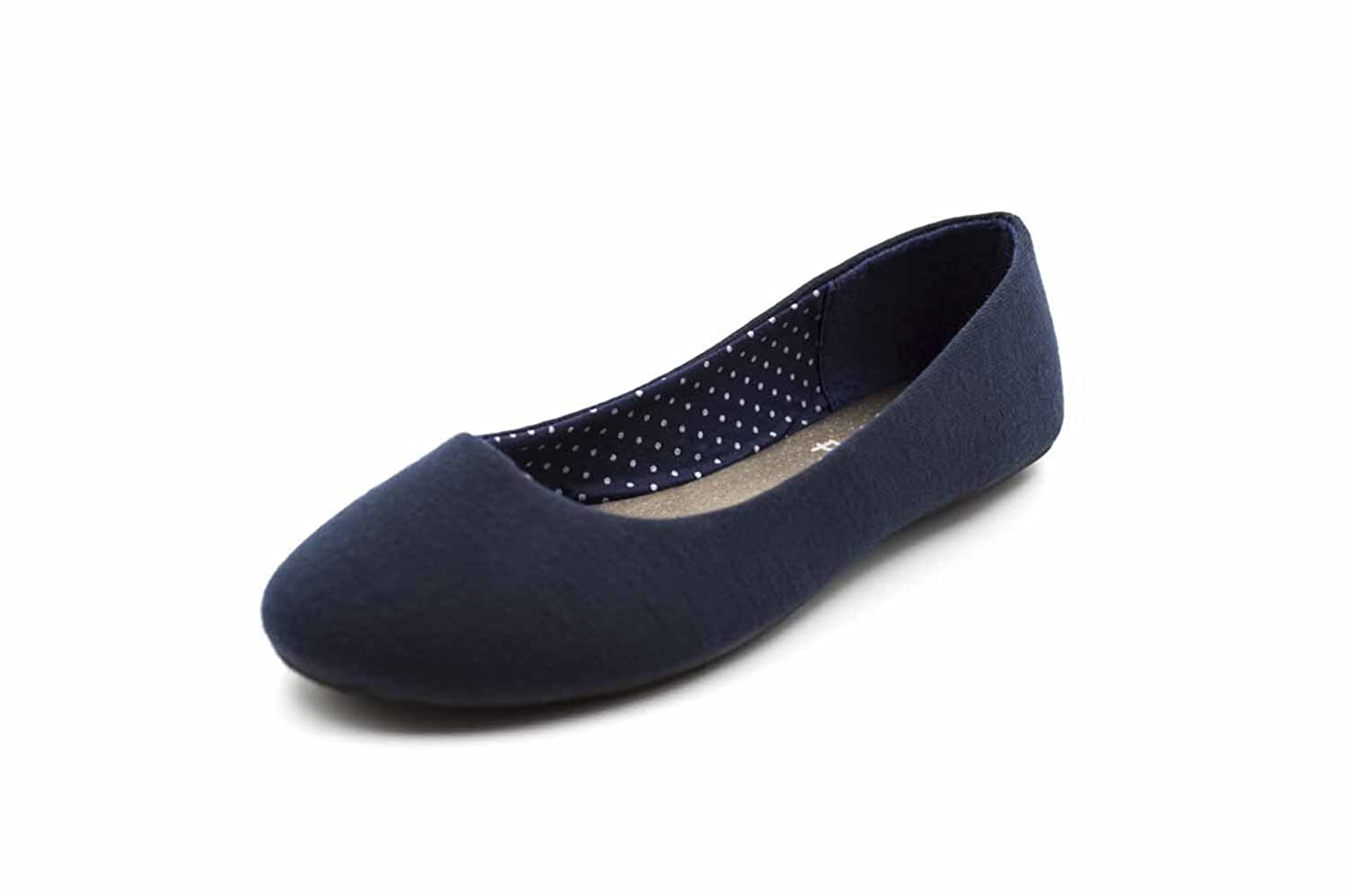 Simply Petals Girl's Slip On Jersey Ballet Flats Orly 4086-TGS3