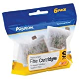 #9: Aqueon QuietFlow Filter Cartridge, Small, 6-Pack