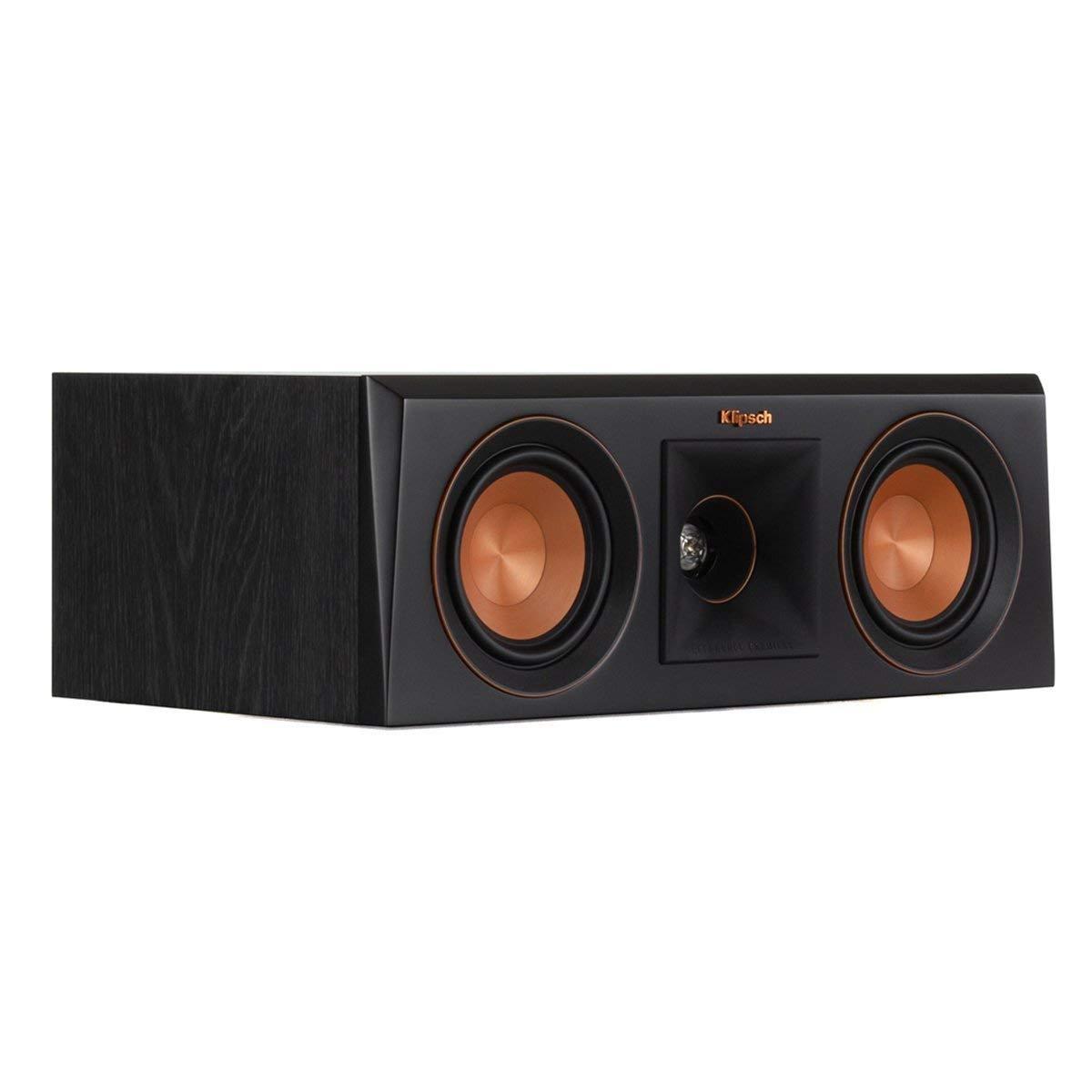 Klipsch RP-400C Center Channel Speaker (Ebony) (Renewed)