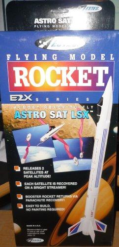 (#2133 Estes E2X Series Astro SAT LSX Flying Model Rocket Kit,Needs Assembly)