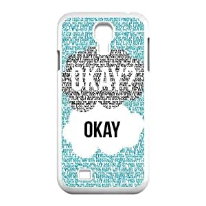 okay okay Discount Personalized Cell Phone Case for SamSung Galaxy S4 I9500, okay okay Galaxy S4 I9500 Cover
