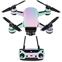 Skin for DJI Spark Mini Drone Combo - Cotton Candy| MightySkins Protective, Durable, and Unique Vinyl Decal wrap cover | Easy To Apply, Remove, and Change Styles | Made in the USA