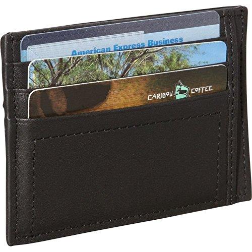 Prima Men's Leather Men's Card Nappa Leather Black Royce Case Men's Nappa Royce q70BRa
