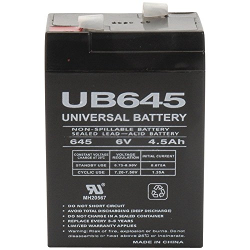 - Universal Power Group UPG UB645 Sealed Lead Acid Batteries (2)