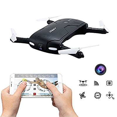 Selfie Phone Control RC Quadcopter Drone JJRC H37 Elfie 2.4G 4CH Mini Wifi FPV High Hold Mode Selfie 0.3MP Camera