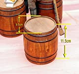 """Toy Model WWII German 1/6 Scale Wooden Barrel Fit for 12"""" action figure"""