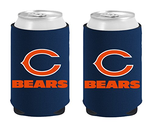 NFL Chicago Bears Magnetic Kolder Kaddy, 2-Pack, Dark Blue ()