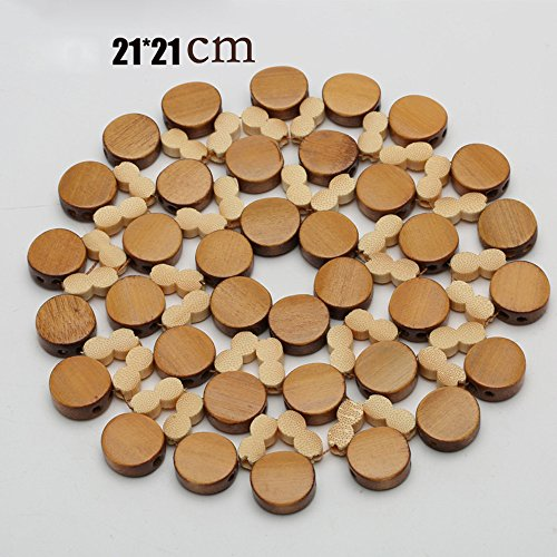 3.5 inch for Drinks//Cups//DIY Round ComSaf Set of 6 Cork Cup Coaster