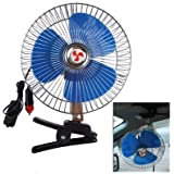 New 8 Inch Mini Portable Fan For Car Electric Vehicle Auto Oscillating Fan Air Cooling Fan