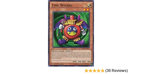 Time Wizard Yugioh DPBC-EN024 1st Edition Common