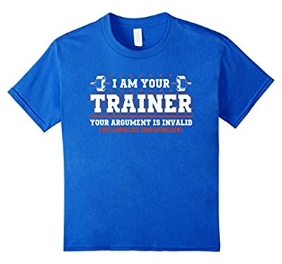 Bodybuilding Workout Shirt | I Am Your Trainer Funny Gift T
