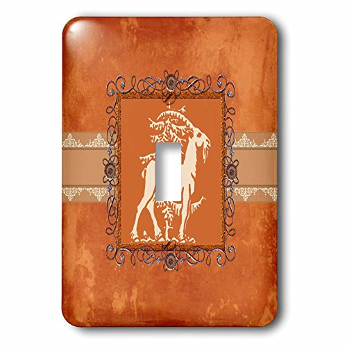 3d Rose 3dRose lsp_186411_1 Majestic Goat Next To Tree, P...